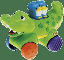 FISHER-PRICE Jezdící zvířátka – Krokodýl