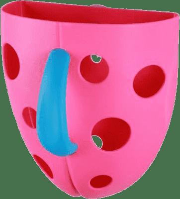 BABY ONO Box na hračky do vane - Ružová