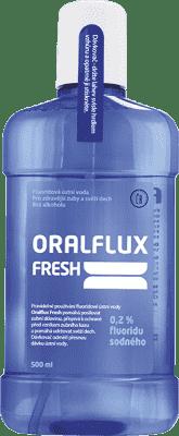 ORALFLUX Fresh 500ml ústna voda