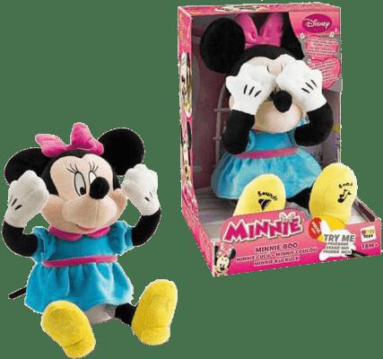 MIKRO TRADING Minnie pluszak do spania 22cm z dźwiękiem