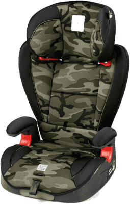 PEG-PÉREGO Fotelik samochodowy Surefix (15-36kg) Camo Green