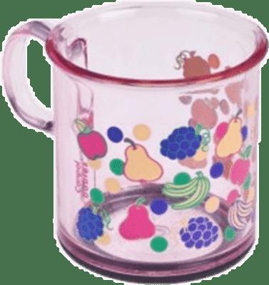 CANPOL Babies Protiskluzový hrneček – růžový