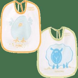 CANPOL Babies Podbradník froté / PVC 7 ks