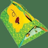 CANPOL Babies Hrací koberec s hrazdičkou MULTIFUNKČNÝ - lúka