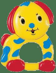 CANPOL Babies Plyšové hrkálka psík