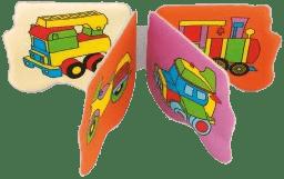 CANPOL Babies Mäkká knižka pískacia lietadlo