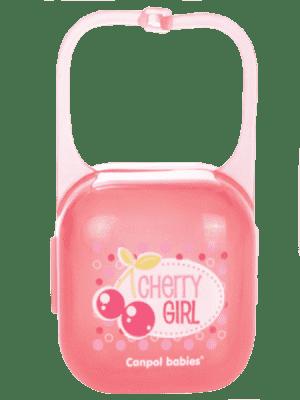 CANPOL BABIES Puzdro na cumlík Fruits – cherry