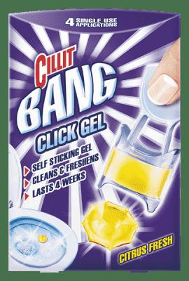 CILLIT BANG WC Click Gel - Citrus (4 ks)