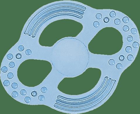 CANPOL Babies Elastické hryzátko - modré