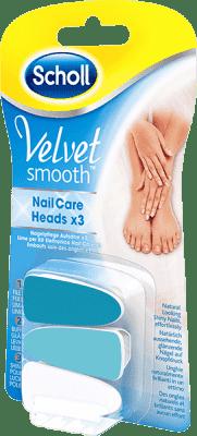 SCHOLL Velvet Smooth Náhradní hlavice do elektrického pilníku na nehty