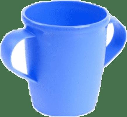 CANPOL Babies Hrnček s uškami BASIC - modrý 250 ml