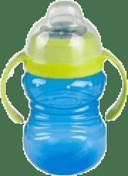 CANPOL Babies Hrníček sněhulák s úchyty- modrý 280 ml