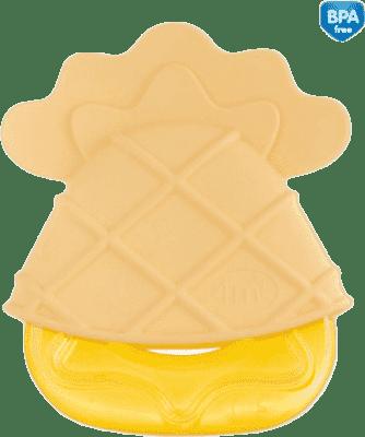 CANPOL Gryzak chłodzący owoce w czapeczkach – beżowy