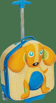OOPS New Happy Trolley! - Kufor na kolieskach Psík