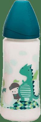 SUAVINEX Butelka szeroki otwór pp 360 ml lateksowy ustnik – smok