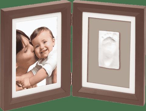 BABY ART Rámček Print Frame Brown & Taupe / Beige