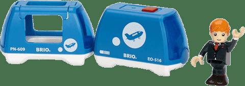 BRIO Elektrický vláčik s panáčikom