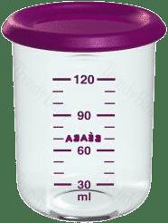 BEABA Pojemnik na jedzenie 120 ml, fioletowy