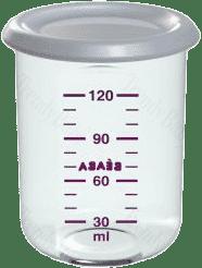 BEABA Pojemnik na jedzenie 120 ml, niebieski
