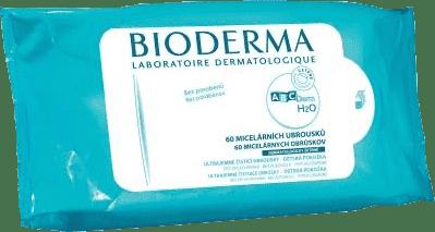 BIODERMA ABCDerm 60 szt. - chusteczki nawilżane