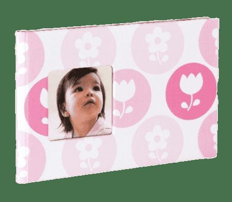 PEARHEAD Dětské fotoalbum růžové (24 foto)