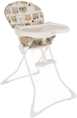 GRACO Jídelní židlička Tea Time – Bowtie Bear