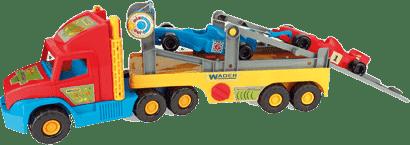 WADER Super truck s formulou F1