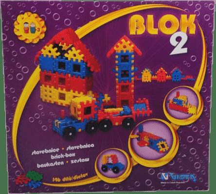 VISTA Stavebnica Blok 2 - plast 146ks