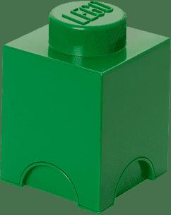 LEGO® Box do przechowywania rozmiar 1 ciemnozielony