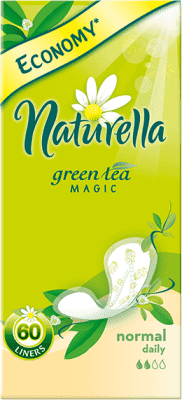 NATURELLA Green Tea Magic Normal, 60ks – intímky