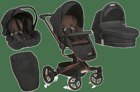 HAUCK Wózek trzyfunkcyjny Twister Trioset chocolate 2016