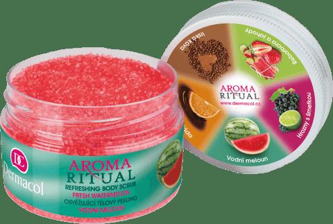 DERMACOL Aroma Ritual – Peeling do ciała arbuzowy 200 g