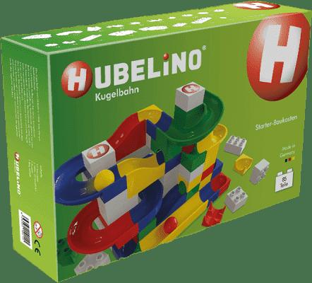 HUBELINO Guličkové dráha set s kockami Starter 85ks