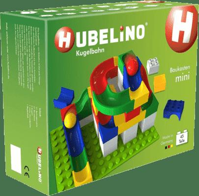 HUBELINO Guličkové dráha sada s kockami Mini 45ks