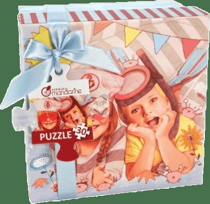 AVENUE MANDARINE Puzzle – Lato