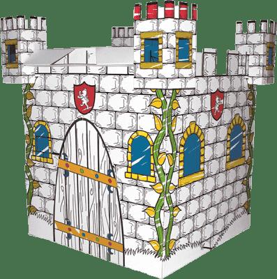 BINO Domek z tektury – zamek