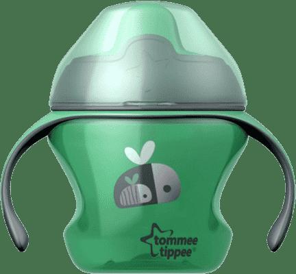 TOMMEE TIPPEE Netekoucí hrnek Explora First Cup 150ml 4m+ - zelený