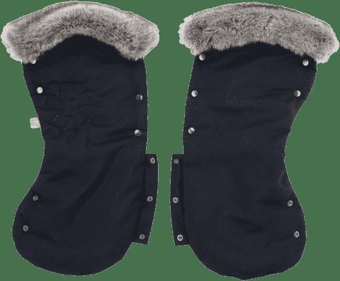 KIDDY Mix´n Match rukávníky s fleecem 1 pár racing black