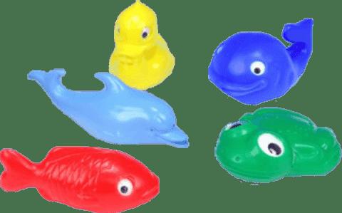 Smer Sada zvieratká do vane - plast