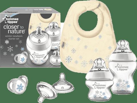 TOMMEE TIPPEE Zestaw butelek C2N – Snowflake