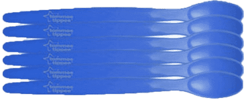 TOMMEE TIPPEE Lžičky 6 ks 6m+ Basic-kluk