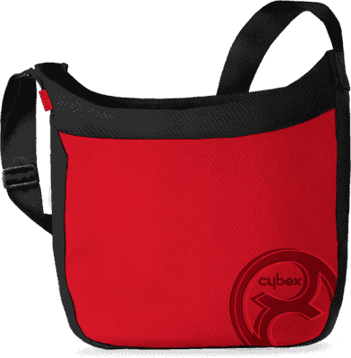 CYBEX Torba na pieluszki czerwony