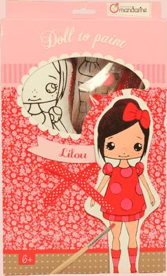 AVENUE MANDARINE Lalka do malowania – Lilou