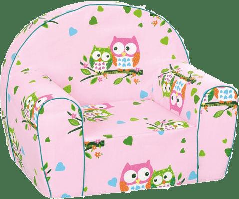 BINO Kresielko ružové - malej sovy