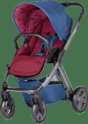 X-LANDER Wózek sportowy X-Pulse, Berry Red