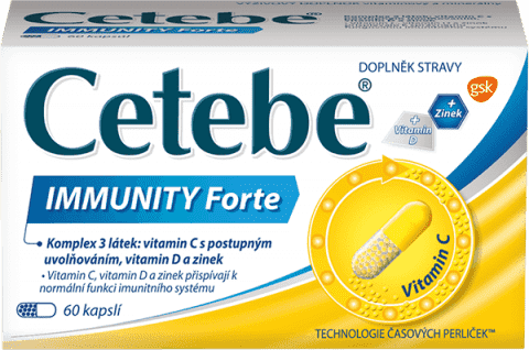 CETEBE Immunity Forte 60 ks