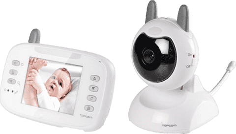 TOPCOM Pestúnka digitálna video BabyViewer KS-4246