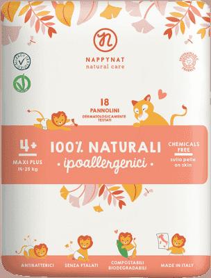 NAPPYNAT Maxi Plus 18szt. (14-25kg) – jednorazowe bio pieluszki