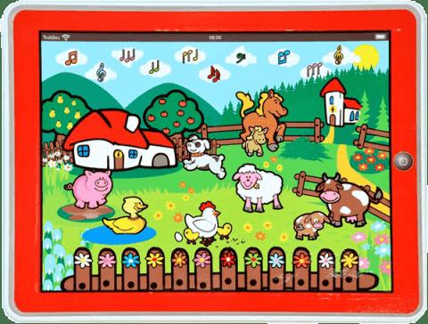 TEDDIES Tablet farma pre najmenších - Moje prvé zvieratká