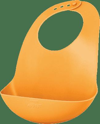AVENT Podbradník plastový oranžový